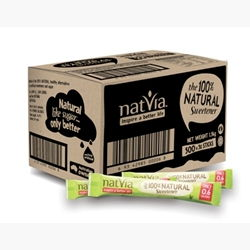 Natvia - 100% Natural Sweetener Sticks (500 x 3g)