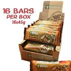 Order Wholesale Kuranda 45g Roasted Nut Cranberry Health Bars. Order Online Distributor Good Food Warehouse.