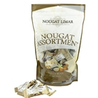 500g Wholesale Vanilla Almond Nougat Pouch Orders Dispatched Fresh from Nougat Limar. Free Delivery Australia Wide.
