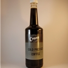 Cold Pressed Coffee 750ml - Pure Black Unsweetened - Cravve (1x750ml)