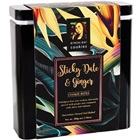 Floral Gift Tin 200g - Sticky Date Ginger - Byron Bay Cookies (1x200g)