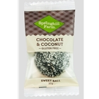 Order Wrapped Chocolate Coconut Sweet Balls direct from Springhill Farm Factory only at Good Food Warehouse. Orders produced FRESH and DELIVERED direct, Australia Wide. FREE DELIVERY.