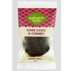 Order Wrapped Dark Choc Cherry Sweet Balls direct from Springhill Farm Factory only at Good Food Warehouse. Orders produced FRESH and DELIVERED direct, Australia Wide. FREE DELIVERY.