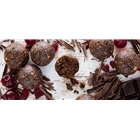 Order Unwrapped Dark Choc Cherry Sweet Balls direct from Springhill Farm Factory only at Good Food Warehouse. Orders produced FRESH and DELIVERED direct, Australia Wide. FREE DELIVERY.