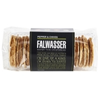Free Delivery. Delivered Fresh. Falwasser Natural Pepper Chives Wafer Thin Crispbreads from Byron Bay.