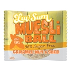 Wholesale Wrapped 12 Muesli Balls 40g - Muesli Caramel Nut Seed - Luv Sum Orders Dispatched direct from Supplier. Free Delivery Australia Wide.