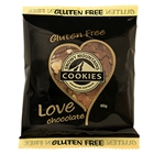 Wrapped Cookie 80g - GLUTEN FREE Love Chocolate - Snowy Cookies (32x80g)