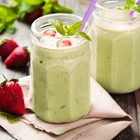 SHOTT Minty Berry Smoothie Recipe