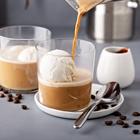 SHOTT Beverages Caramel Affogato Recipe