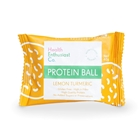 Health Enthusiast Lemon Turmeric Single Wrapped Protein Balls | Good Food Warehouse
