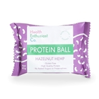 Health Enthusiast Hazelnut Hemp Single Wrapped Protein Balls | Good Food Warehouse