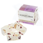 Wholesale Wrapped Nougat Block 60g - Wild Berry Macadamia - Nougat Limar Orders Dispatched direct from Supplier. Free Delivery Australia Wide.