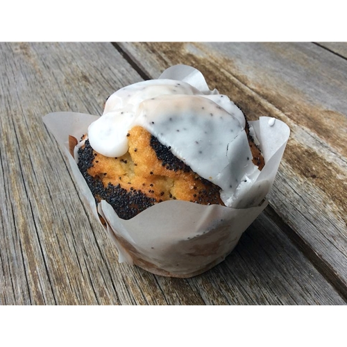 Wholesale Unwrapped Muffins 170g - Orange Poppy Seed - MaMa Kaz Orders Dispatched direct from Supplier. Free Delivery Australia Wide.