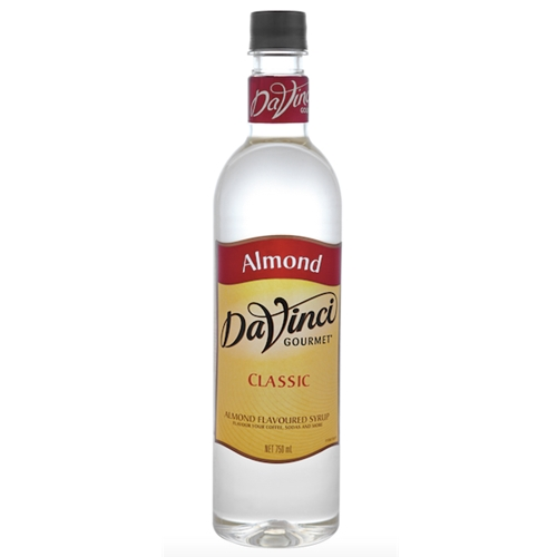 Wholesale Syrup 750ml - Almond - DaVinci Gourmet (1x750ml) Orders Dispatched direct from Supplier. Free Delivery Australia Wide.