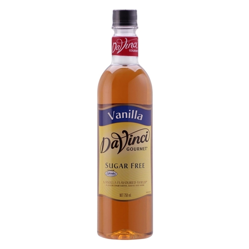 Wholesale Syrup 750ml - SUGAR FREE Vanilla - DaVinci Gourmet  Orders Dispatched direct from Supplier. Free Delivery Australia Wide.