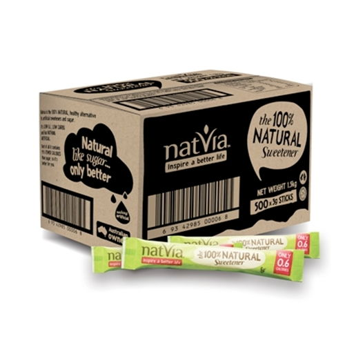Wholesale Natvia Sticks Dispatched Fresh from Natvia in Melbourne. Free Delivery Australia Wide.