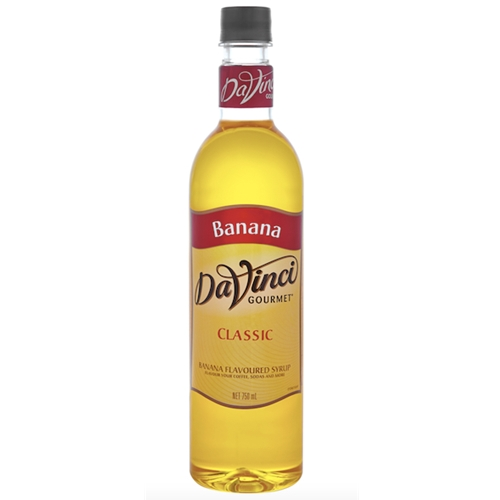 Wholesale Syrup 750ml - Banana - DaVinci Gourmet (1x750ml) Orders Dispatched direct from Supplier. Free Delivery Australia Wide.