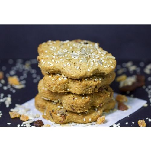 Unwrapped Cookie 65g - Honey Oat Fruit - Redzed (12x65g)