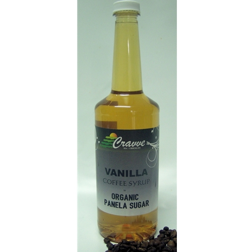 Organic Syrup 750ml - Vanilla - Cravve (1x750ml)