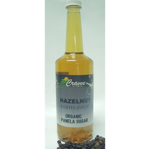 Syrup 750ml - Hazelnut - Cravve (1x750ml)