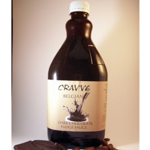Fudge Sauce 2ltr - Belgian Dark Chocolate - Cravve (1x2ltr)
