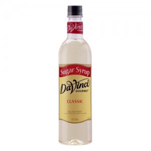 Wholesale Syrup 750ml - Sugar Syrup - DaVinci Gourmet (1x750ml) Orders Dispatched direct from Supplier. Free Delivery Australia Wide.