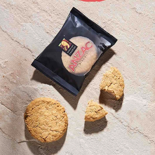 Byron Bay Wrapped Anzac Cookies