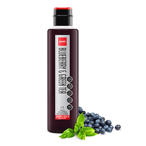 Wholesale Light Fruit Syrup 1ltr - Blueberry Green Tea - SHOTT Beverages Orders Dispatched direct from Supplier. Free Delivery Australia Wide.