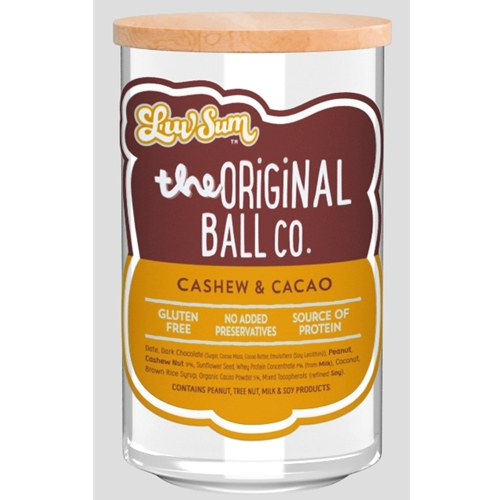 Wholesale Unwrapped 12 Protein Balls 40g - Gluten Free Cashew Cacao - Luv Sum Orders Dispatched direct from Supplier. Free Delivery Australia Wide.