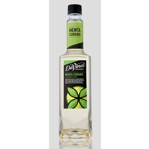 Wholesale Genius Fruit Syrup 750ml - Menta Cubano - DaVinci Gourmet (1x750ml) Orders Dispatched direct from Supplier. Free Delivery Australia Wide.