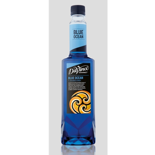 Wholesale Genius Fruit Syrup 750ml - Blue Ocean - DaVinci Gourmet (1x750ml) Orders Dispatched direct from Supplier. Free Delivery Australia Wide.