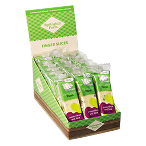FREE DELIVERY ONLY via Good Food Warehouse. Order Wholesale Wrapped Passionfruit Lime Slices.