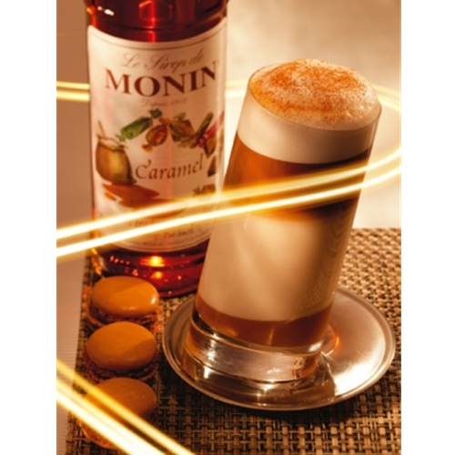 Free Delivery and Best Wholesale Price for Monin 1ltr PET Caramel Syrup at Good Food Warehouse