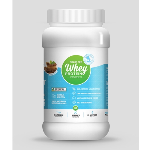 Order Life Grip Australian Grass Fed Chocolate Whey Protein Powder online Good Food Warehouse. Free Delivery.