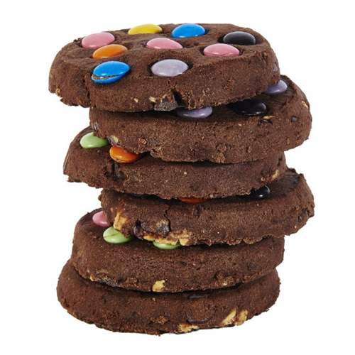 Order Byron Bay Triple Choc Dotty Wholesale Cafe Cookies from Good Food Warehouse Today.