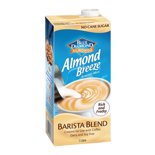 Almond Breeze Barista Blend - Blue Dimond (12x1ltr)