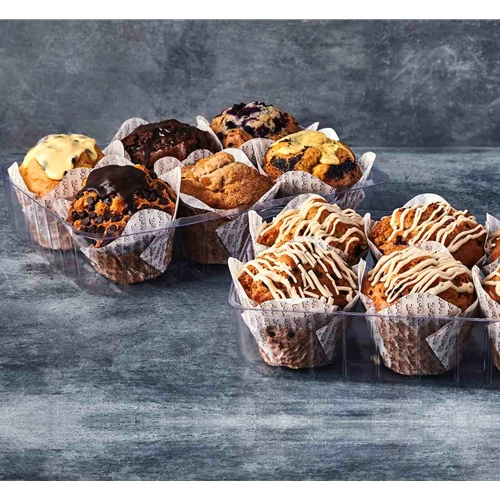 Wholesale Unwrapped Muffins 170g - Double Chocolate - MaMa Kaz Orders Dispatched direct from Supplier. Free Delivery Australia Wide.