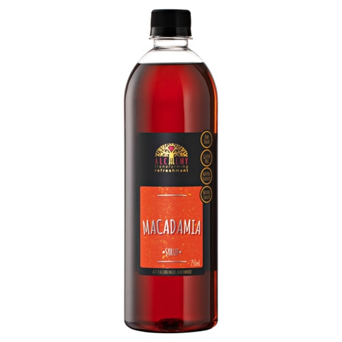 Order Wholesale Cafe 750ml Alchemy Macadamia Syrup Online Good Food Warehouse.