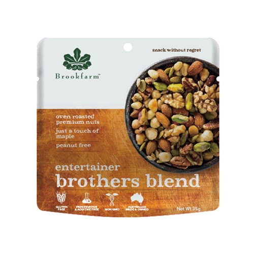 Order Wholesale 35g Brookfarm Brothers Blend Entertainers Mix Online Good Food Warehouse