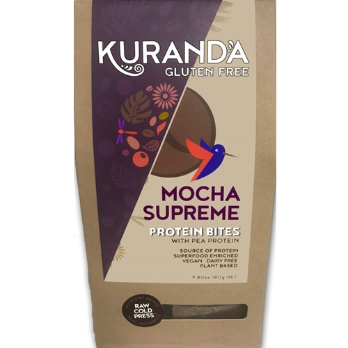 Good Food Warehouse Online Wholesale direct from Kuranda. Mocha Supreme Protein Bites.