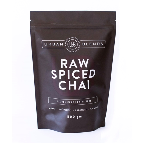 Order Wholesale Online Urban Blends 500g Raw Spiced Chai. Good Food Warehouse.