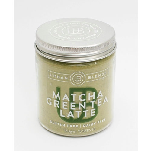 Order Wholesale Online Urban Blends 150g Matcha Green Tea Latte Jar. Good Food Warehouse.