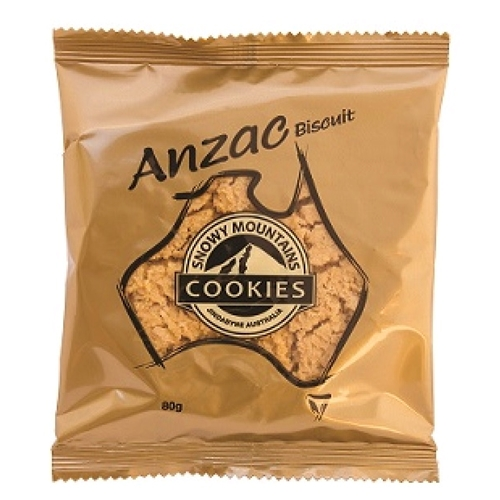 Anzac Snowy Mountain Cookies