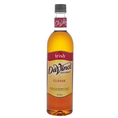 Wholesale Syrup 750ml - Irish Cream - DaVinci Gourmet (1x750ml) Orders Dispatched direct from Supplier. Free Delivery Australia Wide.