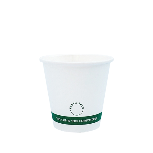 4oz PLA Single Wall White Compostable Cups