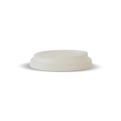 Compostable Lids 90mm White Earth Pack
