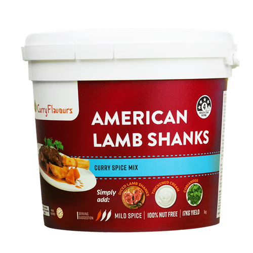 Curry Flavours American Lamb Shanks Spice Blends