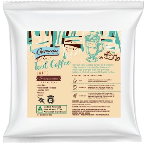 Cappuccine - Iced Coffee Latte Powder - Good Food Warehouse