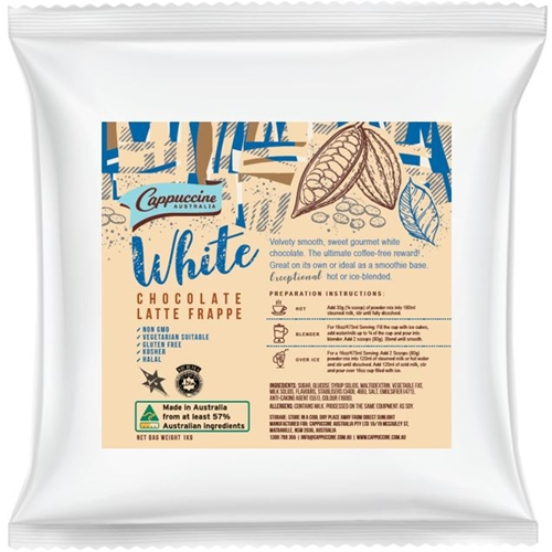 Cappuccine - White Chocolate Powder - Good Food Warehouse