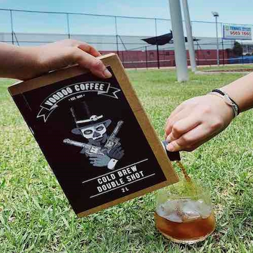Cold Brew Bag in Box Pour | Voodoo Coffee Wholesale | Good Food Warehouse